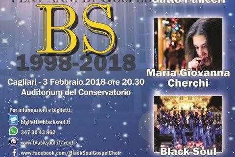 Cagliari: Black Soul in concerto per i 20 anni di musica