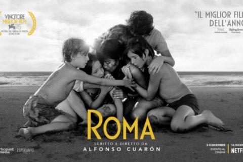 """""""Roma"""" di Alfonso Cuaròn a Genova"""
