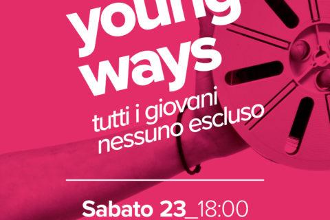 Young Ways – Premio Adriana D'Innocenzo: evento finale il 23 novembre