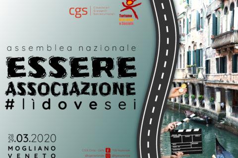 Assemblea nazionale 2020: 28-29 marzo a Mogliano Veneto
